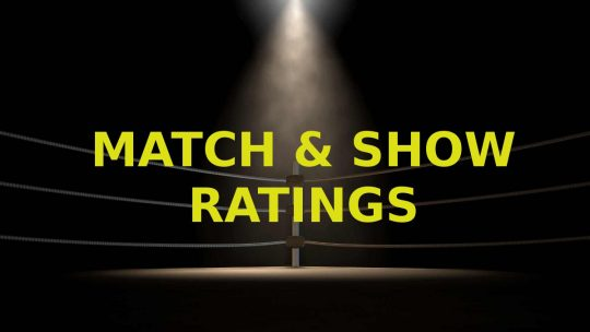 Opinion: Match & Show Ratings for October 11 to October 17