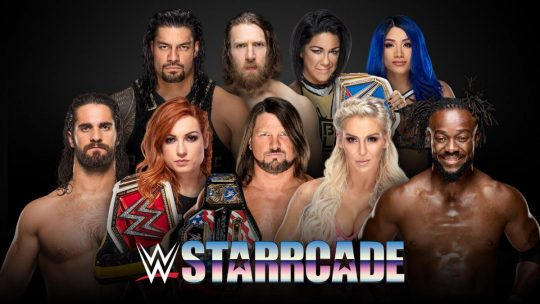Various: Updated Card for WWE Starrcade, NJPW World Tag League Night 2 Results, Indies