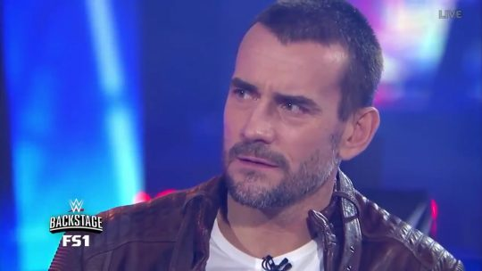 CM Punk Asked About Possible In-Ring Return During WWE Backstage
