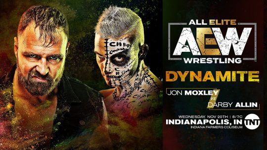 AEW Dynamite Results - Nov. 20, 2019 - Moxley vs. Allin, Fenix vs. Nick Jackson