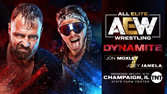 AEW Dynamite Results - Dec. 4, 2019 - Jon Moxley vs. Joey Janela