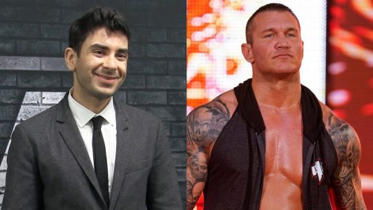 Randy Orton and Tony Khan Go at It on Twitter