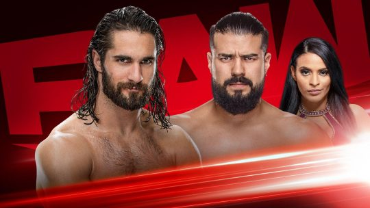 WWE Raw Results - Nov. 18, 2019 - Rollins vs. Andrade, Tag Team Title Match