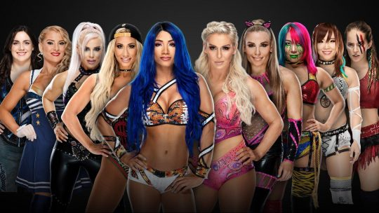 Updated Survivor Series Card - Team Raw Women's Team Announced