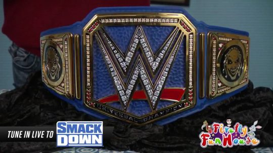 The Universal Championship Is Blue Now