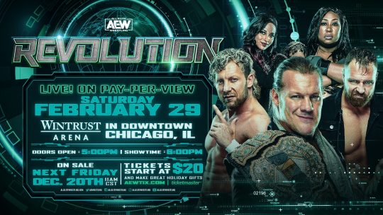 Updated AEW Revolution Card: Two Matches Made Official