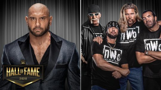 Batista and The nWo to Be Inducted Into WWE Hall of Fame