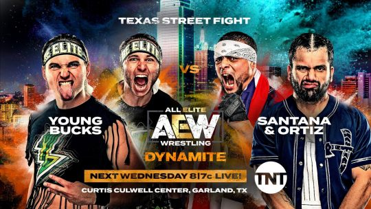AEW Dynamite Results - Dec. 11, 2019 - Young Bucks vs. Santana & Ortiz
