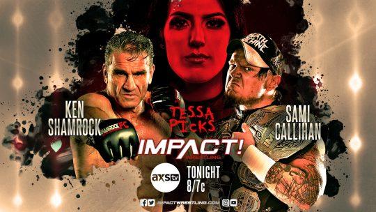 Impact Results - Dec. 10, 2019 - Sami Callihan vs. Ken Shamrock, RVD vs. Rhino