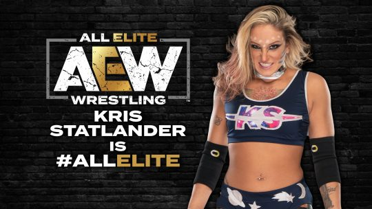 AEW Confirms Signings of Kris Statlander and Big Swole