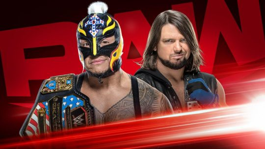 "WWE Raw Results - Dec. 9, 2019 - Mysterio vs. Styles, Lana & Rusev ""Divorce"""