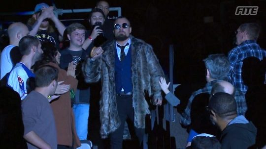 Marty Scurll Shows Up at NWA Into the Fire PPV