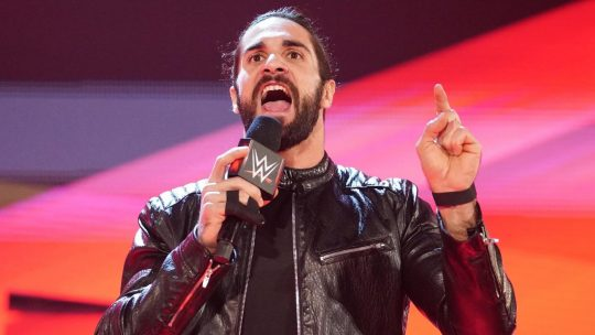 Seth Rollins Has a Broken Finger