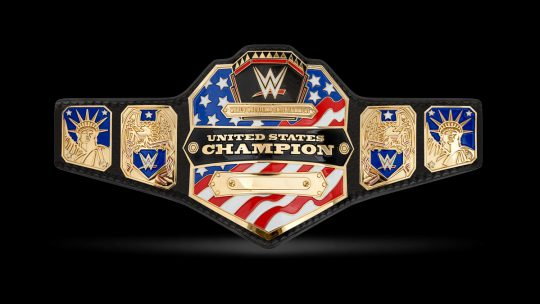 New WWE US Championship Belt May Debut Tonight on Raw