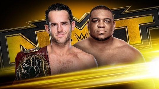 NXT Results - Jan. 22, 2020 - Roderick Strong vs. Keith Lee