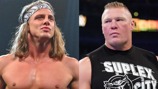 "Brock Lesnar and Matt Riddle Reportedly in ""Verbal Altercation"" Backstage at Royal Rumble"