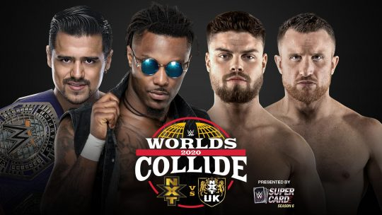 Final Card for Saturday's WWE Worlds Collide Special