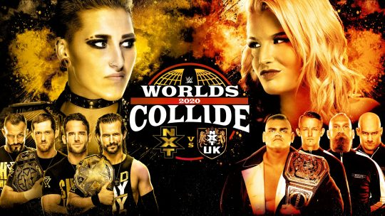 WWE Worlds Collide Results - Jan. 25, 2020 - NXT vs. NXT UK