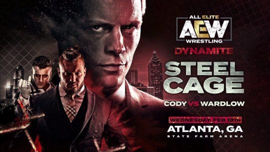 AEW Dynamite Results - Feb. 19, 2020 - Cody vs. Wardlow Cage Match