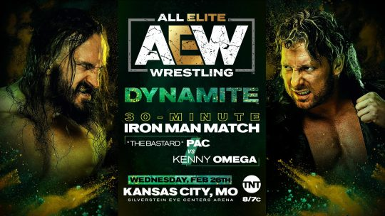 AEW Dynamite Results - Feb. 26, 2020 - Omega vs. Pac