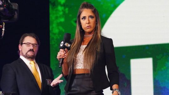 AEW: AEW's Main Booker, Who Came Up With Britt Baker's Promo?