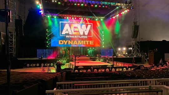 AEW: More Fans Invited to This Week's Tapings, Jungle Boy Plans, Bash at the Beach Trademark