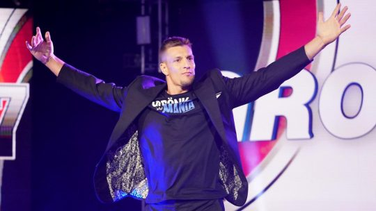 Rob Gronkowski Is No Longer Under WWE Contract