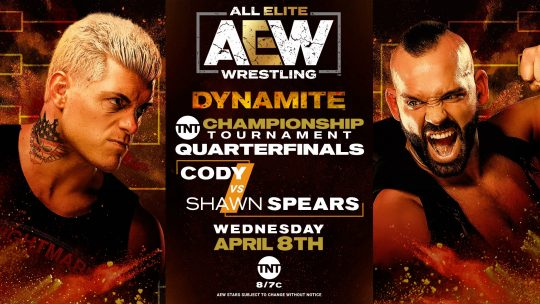 AEW Dynamite Results - Apr. 8, 2020 - Cody vs. Shawn Spears
