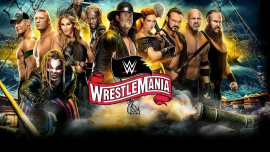 WWE WrestleMania 36 Night 2 Results - Apr. 5, 2020 - Lesnar vs. McIntyre