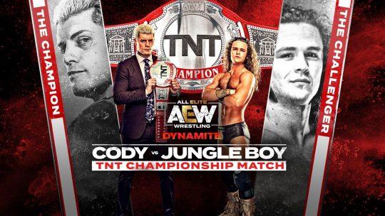 AEW Dynamite Results - June 3, 2020 - Cody vs. Jungle Boy