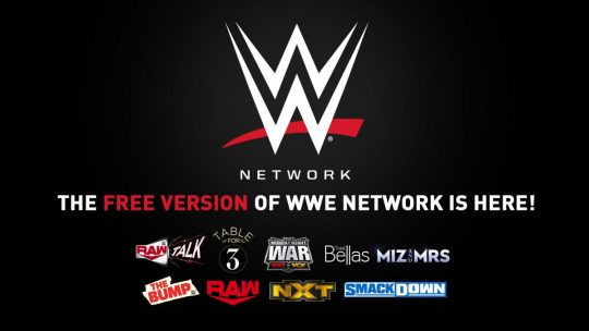 WWE Launches Free Version of WWE Network