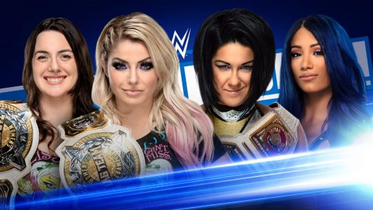 WWE SmackDown Results - June 5, 2020 - Alexa & Nikki vs. Bayley & Sasha