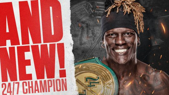 R-Truth Wins the 24/7 Championship From Rob Gronkowski