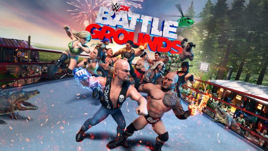 More Gameplay Details and DLC Plans for WWE 2K Battlegrounds