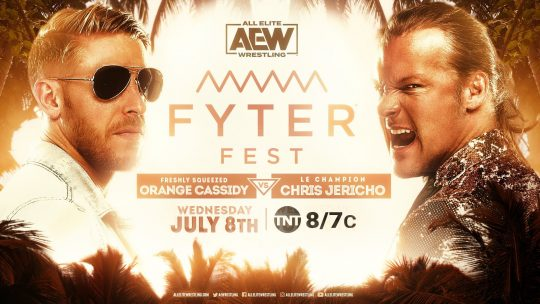 AEW Fyter Fest Night 2 Results - July 8, 2020 - Chris Jericho vs. Orange Cassidy