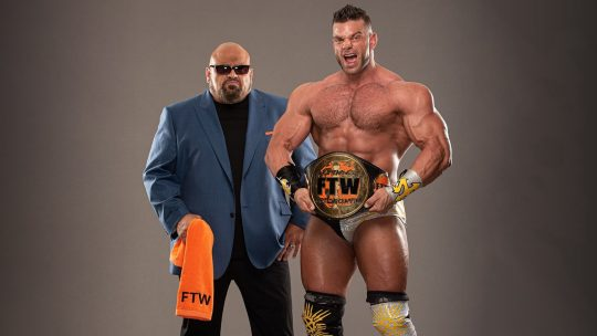 More on Return of Taz's Classic FTW Championship Belt at AEW Fyter Fest