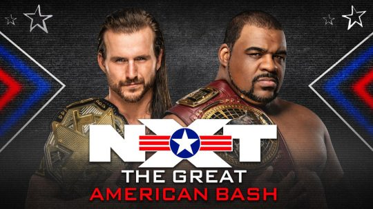 NXT Great American Bash Night 2 Results - July 8, 2020 - Adam Cole vs. Keith Lee