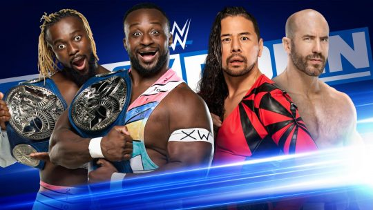WWE SmackDown Results - July 10, 2020 - New Day vs. Cesaro & Nakamura