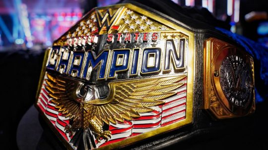 More on WWE's New U.S. Title Belt Design & More New WWE Belts Planned