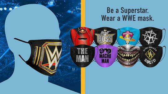 WWE Issues New Mask Policy Making Masks Mandatory at Their Shows