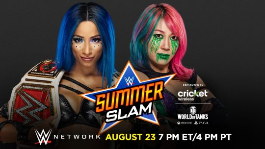 Two Title Matches Announced for SummerSlam - Updated Card
