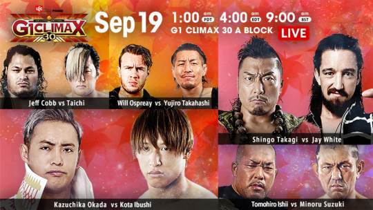 Various: NJPW G1 Climax 2020 Night 1 Results, New Trademarks, Indies