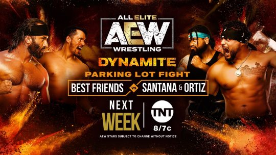 More on Parking Lot Fight Match at This Week's AEW Dynamite Show