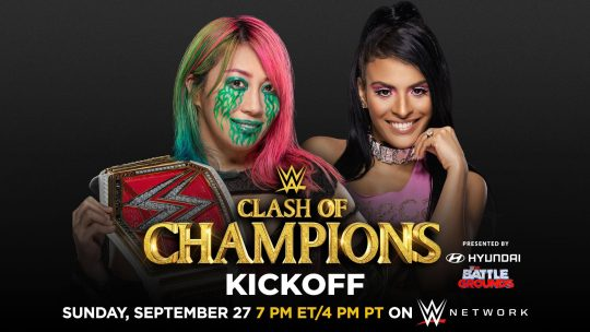 Three Title Matches Added to WWE Clash of Champions