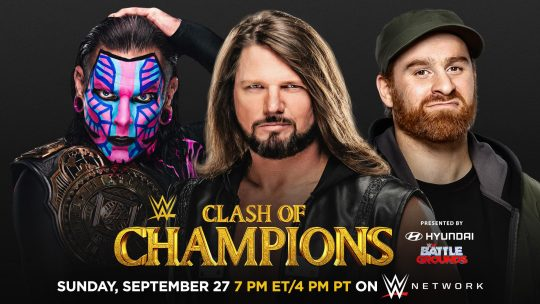 Two Title Matches Added to WWE Clash of Champions