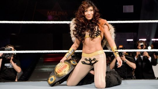 Former WWE Women's Champion Melina Reportedly Signs With WWE