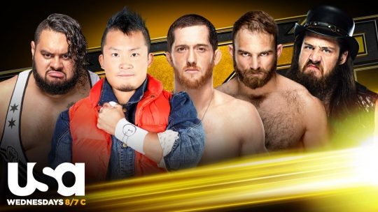 NXT Announces All Five Competitors for Gauntlet Eliminator Match