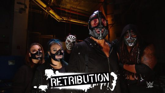 RETRIBUTION Members Unmask & Get New Names