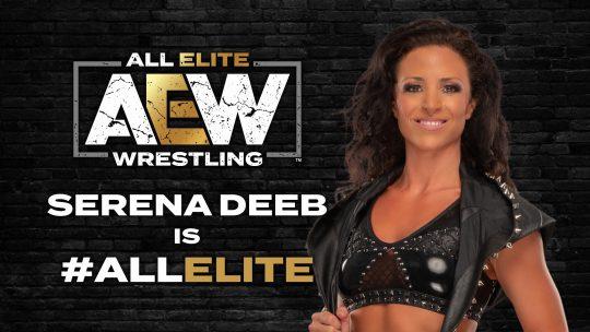 AEW Signs Serena Deeb