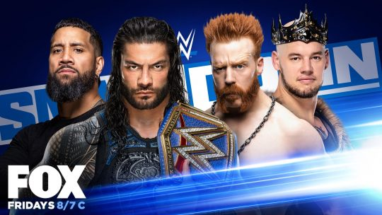 WWE SmackDown Results - Sep. 18, 2020 - Reigns & Uso vs. Sheamus & Corbin
